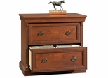 Arbor Gate Lateral File Coach Cherry - Sauder Furniture - 404730