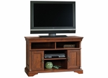 Arbor Gate Panel TV Stand Coach Cherry - Sauder Furniture - 404729