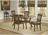 Arbor Hill 5-Piece Dining Set in Colonial Chestnut - Hillsdale Furniture - 4232DTBC