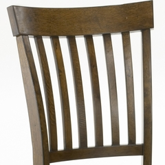 Arbor Hill Chair (Set of 2) in Colonial Chestnut - Hillsdale Furniture - 4232-802
