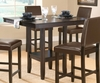 Arcadia Counter Height Table in Espresso - Hillsdale Furniture - 4180-835M