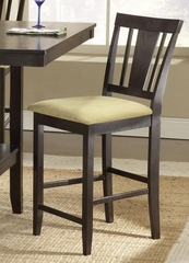 Arcadia Non-Swivel Counter Stool (Set of 2) in Espresso - Hillsdale Furniture - 4180-822M
