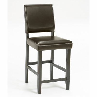 Arcadia Non-Swivel Parson Counter Stool (Set of 2) in Espresso - Hillsdale Furniture - 4180-823M