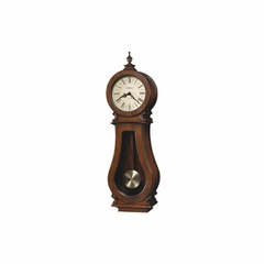 Arendal Chiming Wall Clock - Distressed Finish - Howard Miller