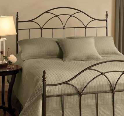 Aria King Size Headboard with Bed Frame - Hillsdale Furniture - 1473HKR