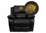 Arkansas Pine Bluff Golden Lions Rocker Recliner - MEN-DA3439-91-BK-41081-EMB-GG