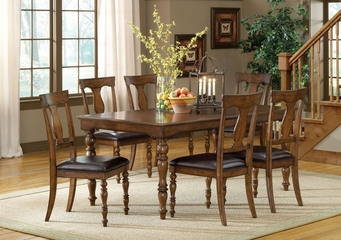 Arlington 7-Piece Dining Set - Hillsdale Furniture - 4610DTBC7