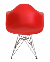 Arm Chair in Red - DC-311G-RED