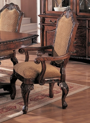 Arm Chair (Set of 2) in Antique Brown - Coaster