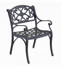 Arm Chair (Set of 2) in Black - Home Styles - 5554-802