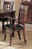 Arm Chair (Set of 2) in Cherry - Coaster - COAST-11005031-SET