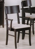 Arm Chair (Set of 2) in Rich Cappuccino - Coaster
