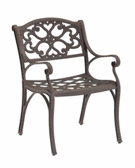 Arm Chair (Set of 2) in Rust Brown - Home Styles - 5555-802