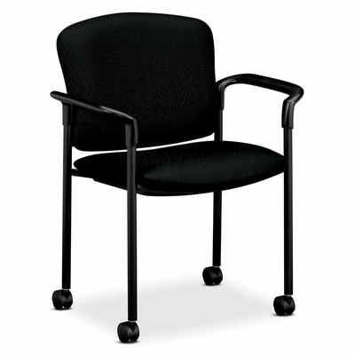 Arm Guest Chair - Black 2 Count- HON4075NT10T
