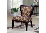 Armless Accent Chair with Wood Legs - 902044