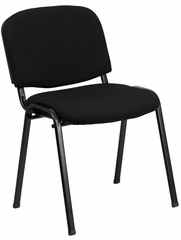 Armless Ergonomic Stack Chair - EU-84-BK-GG