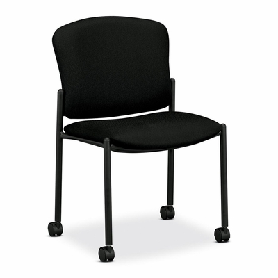 Armless Guest Chair - Black 2 Count- HON4077NT10T
