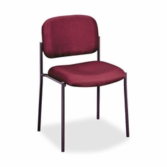 Armless Guest Chair - Burgundy - BSXVL606VA62