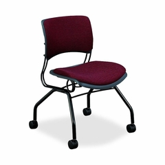 Armless Guest Chair - Wild Rose/Black - HON4306BE62T
