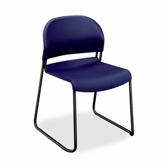 Armless Stacking Chair - Blue 4 Count- HON403190T