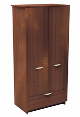 Armoire - 1 Drawer Men's Armoire - Nocce Collection - Nexera Furniture - 401203