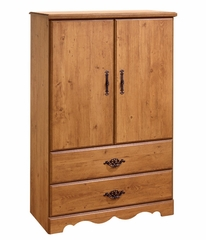 Armoire in Country Pine - South Shore Furniture - 3232038
