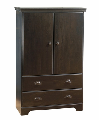 Armoire in Ebony - South Shore Furniture - 3877038