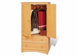 Armoire in Maple - Sonoma Collection - Prepac Furniture - MDC-3359