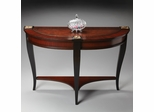 Art Deco Demi Lune Console Table