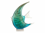 Art Glass  Angel Fish Figurine - Dale Tiffany