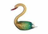 Art Glass Swan  Figurine - Dale Tiffany