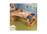 Art Table with Drying Rack & Storage - KidKraft