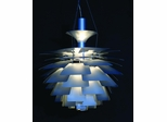 Artichoke Ceiling Lamp - CD66M-SILVER