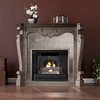 Arturo Burnt Oak Gel Fireplace - Holly and Martin