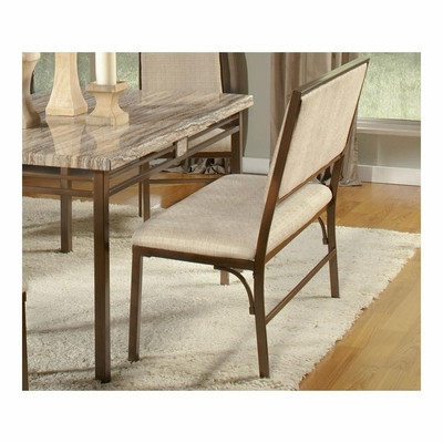 Asbury Dining Bench Antique Brown - Largo - LARGO-ST-D192-49
