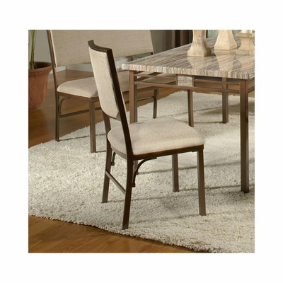 Asbury Side Chair - Set of 2 in Antique Brown - Largo - LARGO-ST-D192-41