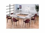 Aspen Conference Tables in White Spectrum Finish