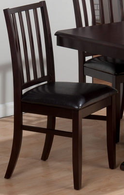 Aspen Merlot Stephie Side Chair - Set of 2 - 825-323KD