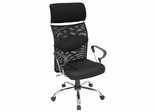 Aspire Mesh High Back Swivel Chair - 5600BK