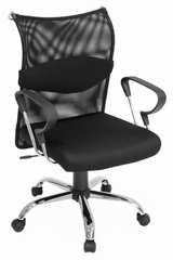 Aspire Mesh Low Back Swivel Chair - 5602BK