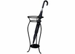 Atlantis Umbrella Stand - Black - Pangaea Home and Garden Furniture - FM-C4269-K