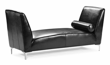 Atlas Bench in Black - Zuo Modern - 900330