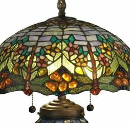 Atticus Table Lamp - Dale Tiffany - TT60577