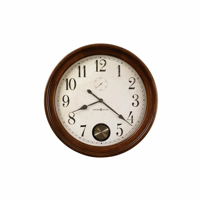 Auburn Hampton Cherry Wall Clock - Howard Miller