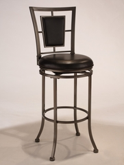 Auckland Swivel Barstool in Grey Stone - Hillsdale Furniture - 4262-830