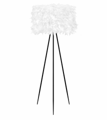 Audubon Floor Lamp (Artificail feathers) - LumiSource - LS-K-AUDBNFL-W