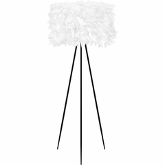 Audubon Floor Lamp - Artificial Feathers - Lumisource
