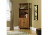 August Hill Library with Doors Oiled Oak - Sauder Furniture - 409749