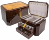 Augusta Jewelry Box in Walnut - JBQ-SA106