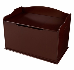 Austin Toy Box in Cherry - KidKraft Furniture - 14955